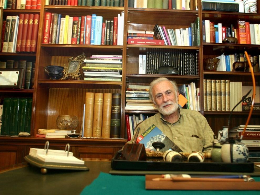 El naturalista y escritor Eduardo Martínez de Pisón