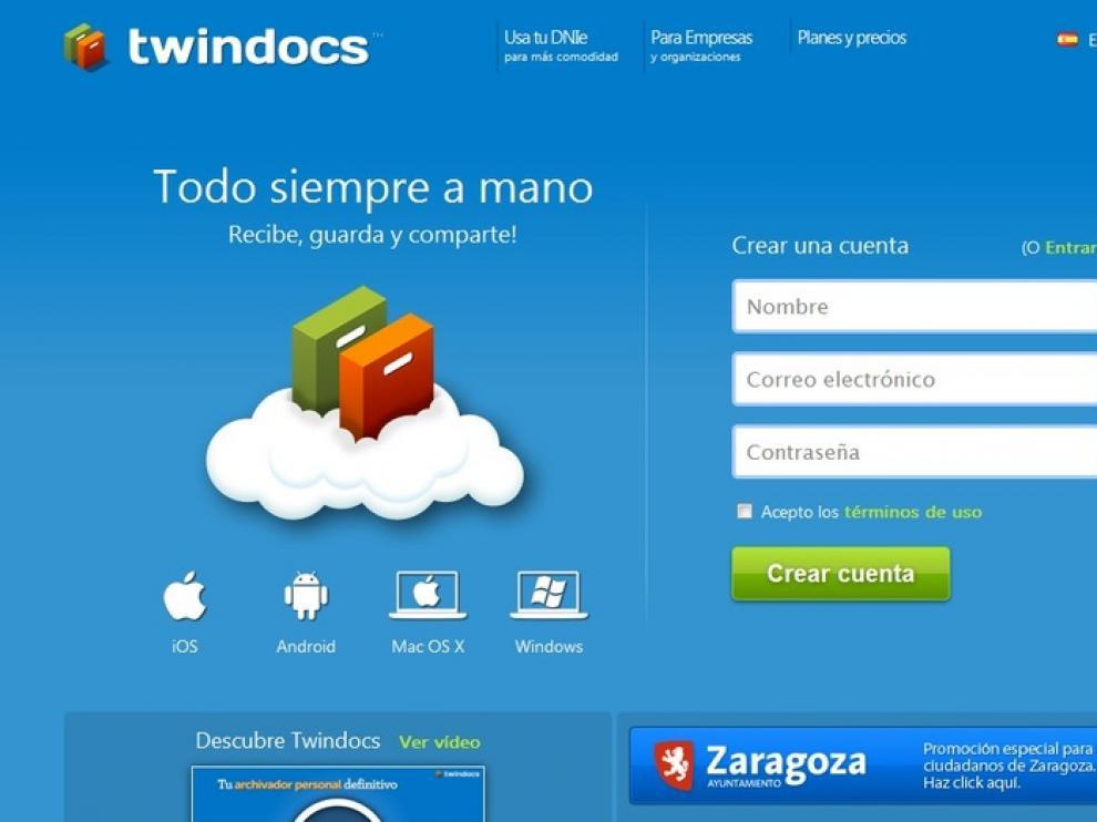 Archivador virtual TwinDocs