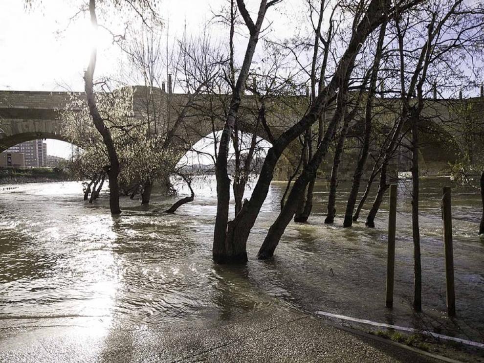 Nueva crecida del Ebro