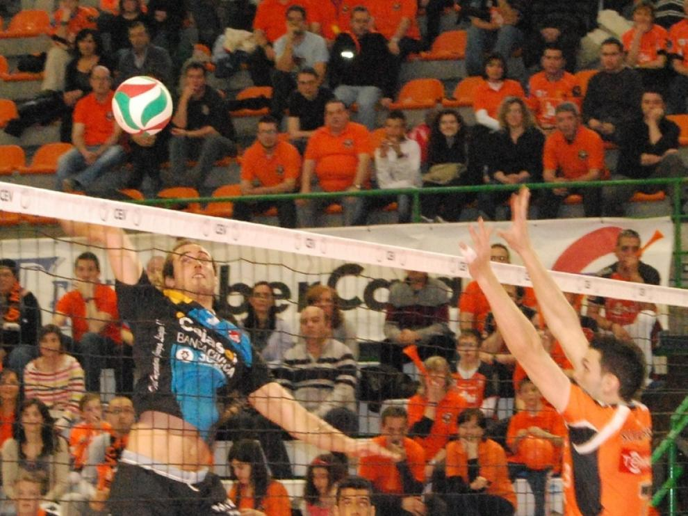 El equipo turolense jugará el partido de ida frente al potente Zaksa Kedzierzyn-Kozle