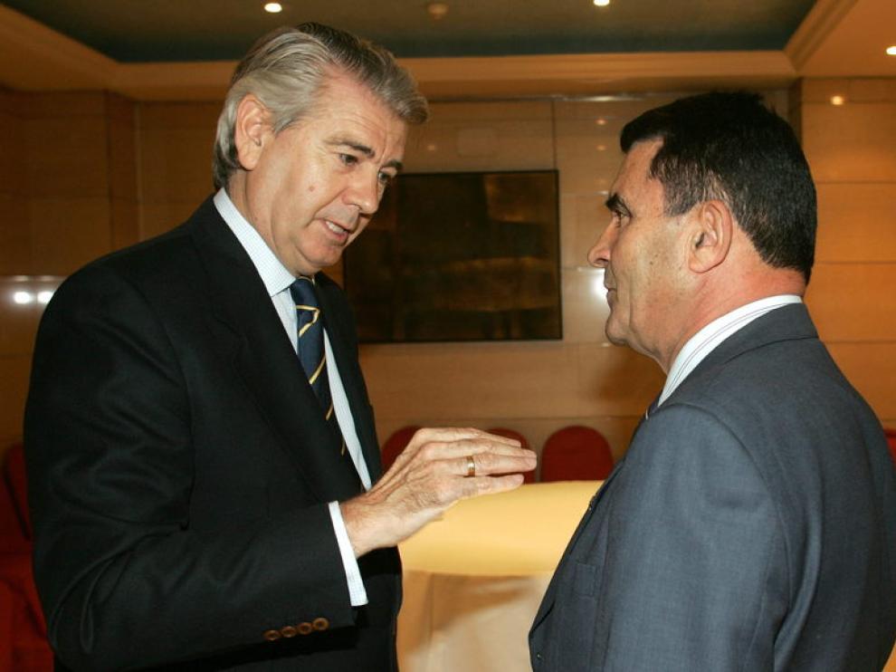 Santiago Lanzuela y Emlio Eiroa