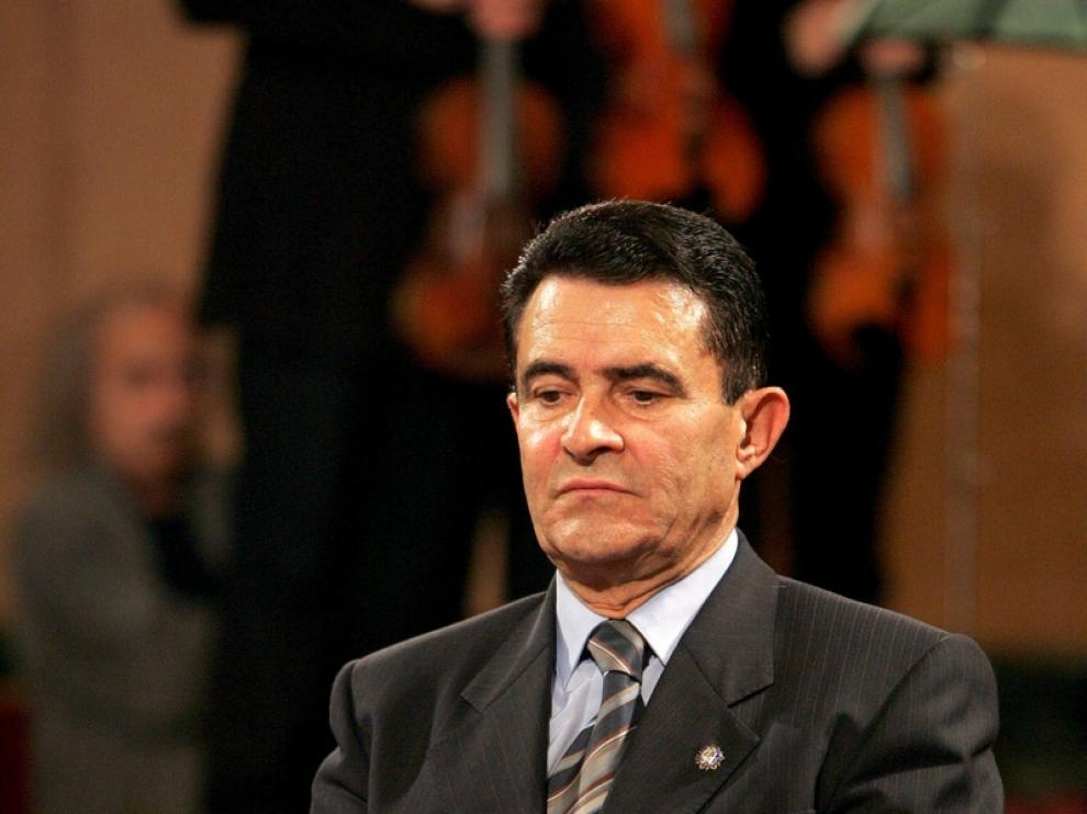 El expresidente de Aragón, Emilio Eiroa