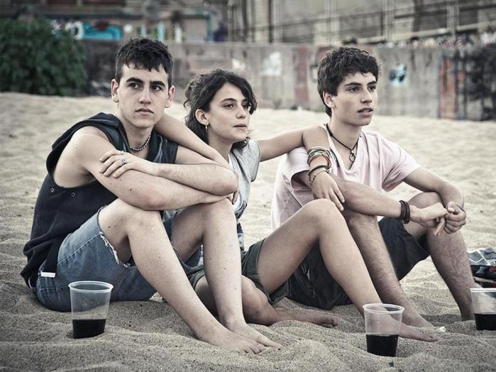 Fotograma de la película 'Los niños salvajes'