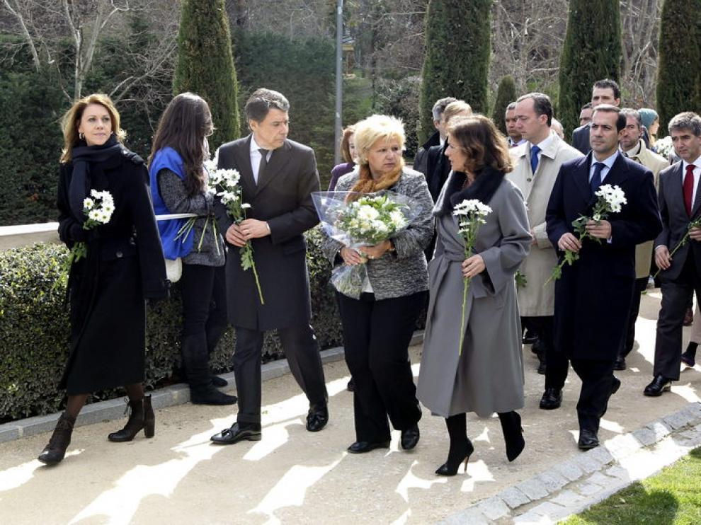 Homenaje de la AVT a las víctimas del 11-M