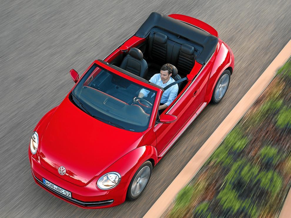 El nuevo Cabrio de Volkswagen.