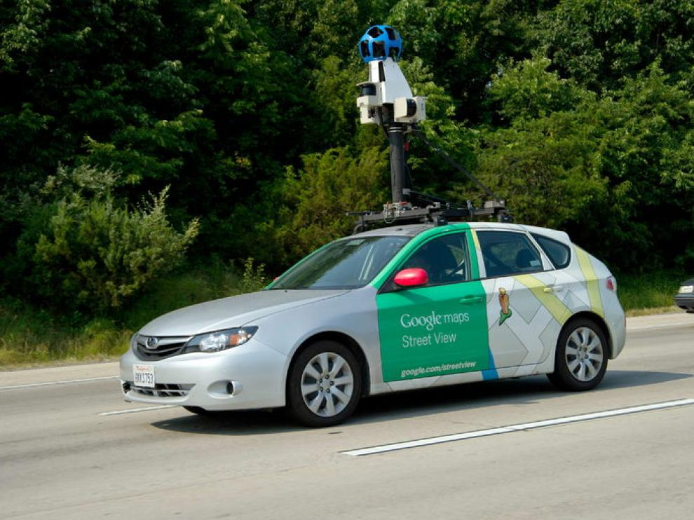 Vehículo usado por Google para elaborar Street View.