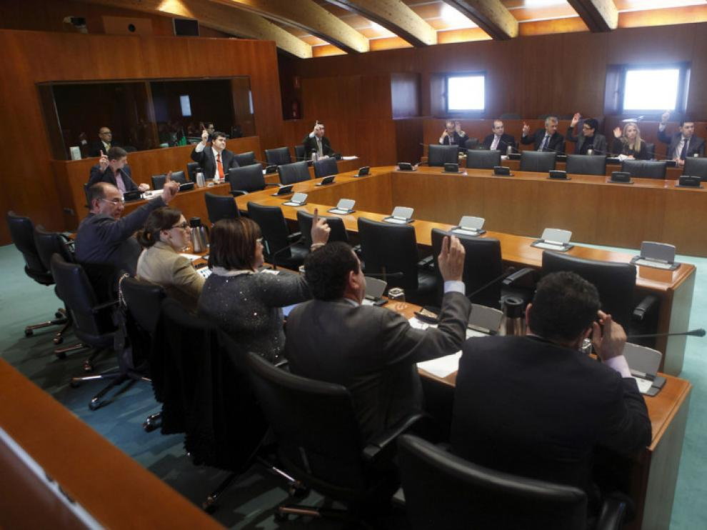 La comisión de Agricultura, Ganadería y Medio Ambiente de las Cortes de Aragón