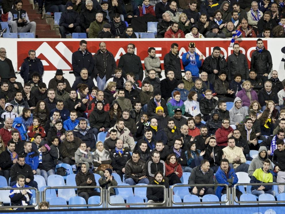 El respaldo constante de la afición al Real Zaragoza