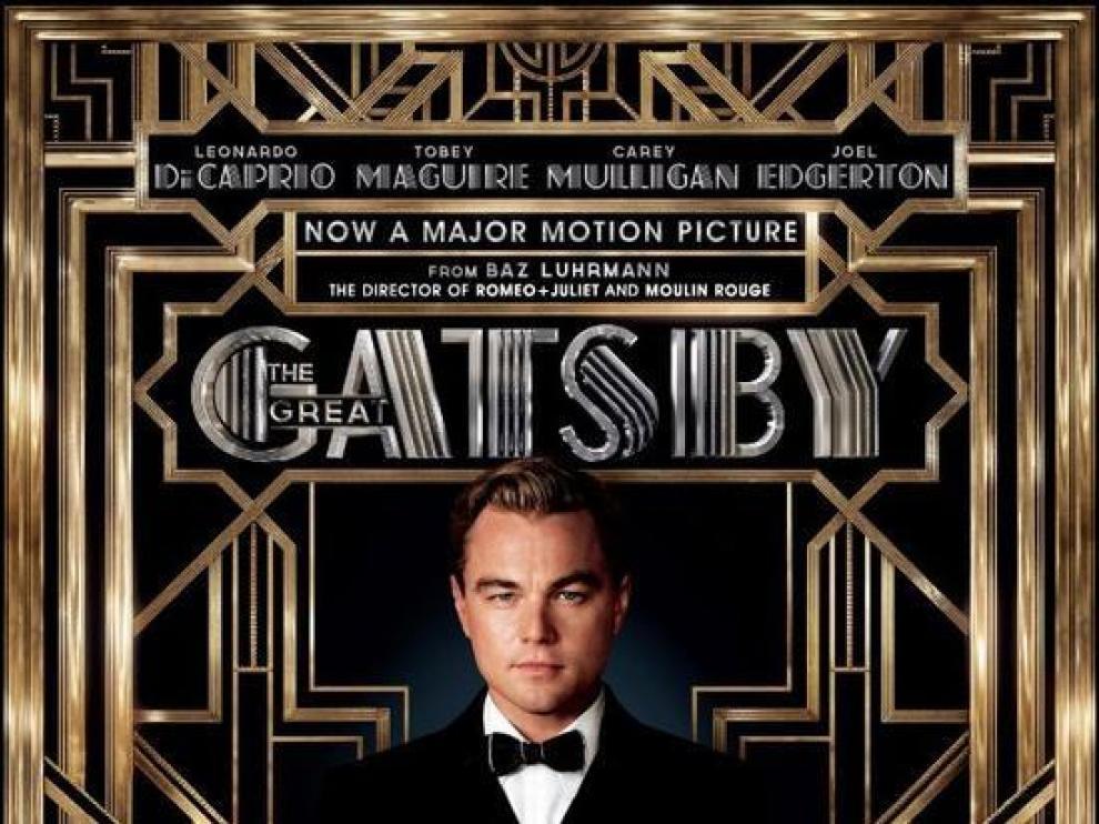 Cartel de la película 'El Gran Gatsby', protagonizada por Leonardo Di Caprio.
