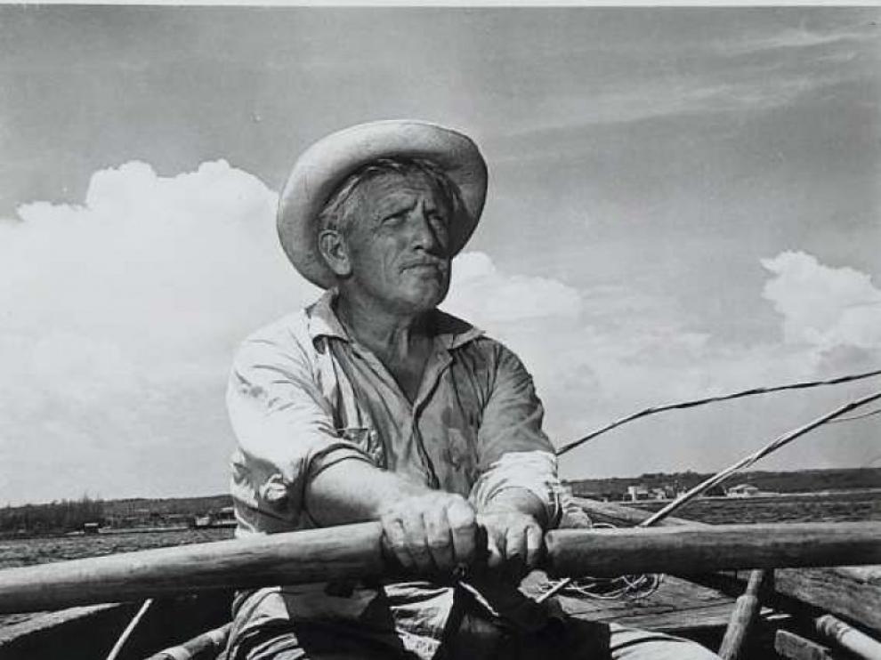 Spencer Tracy protagoniza 'El viejo y el mar'