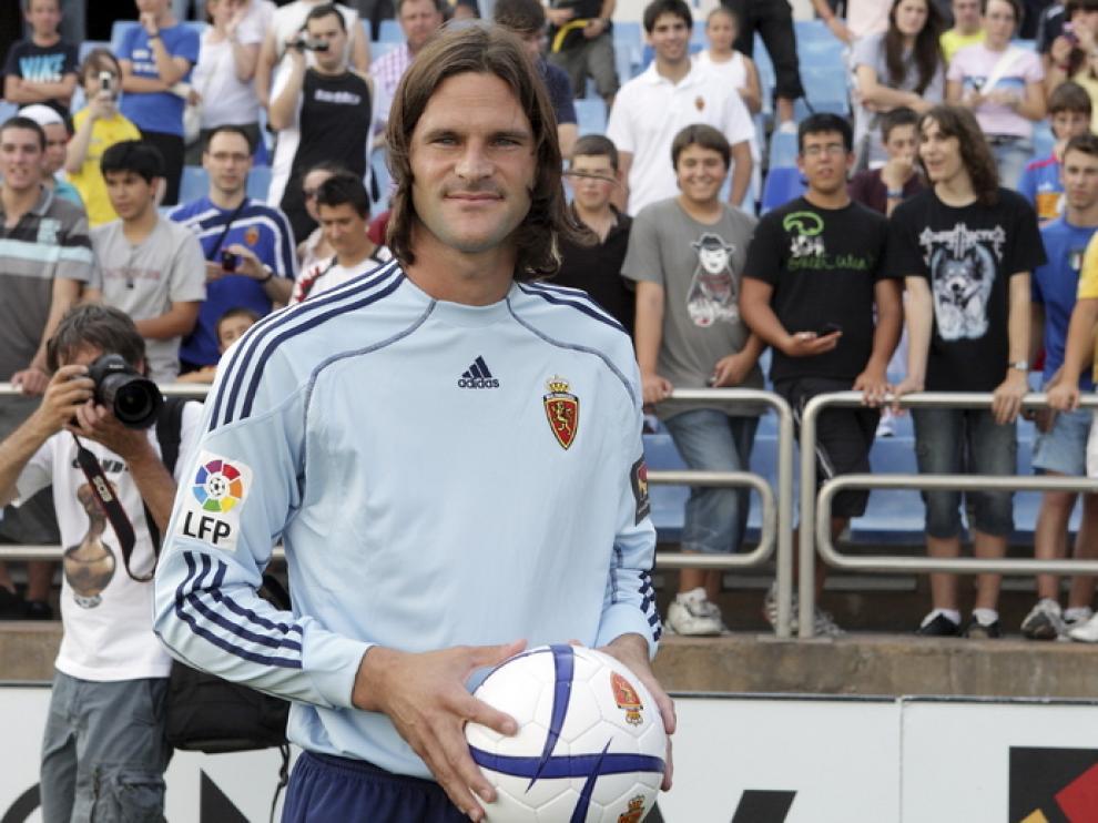 Leo Franco en La Romareda