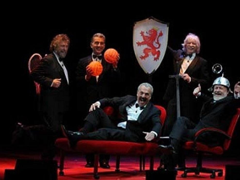 El nuevo espectáculo de Les Luthiers llega a Zaragoza.