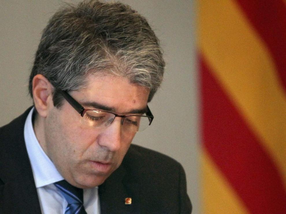 Portavoz del gobierno catalán y consejero de la Presidencia, Francesc Homs.