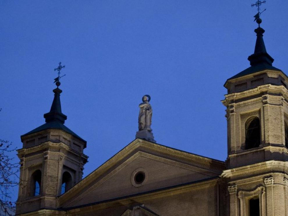 Las campanas de Santa Engracia repicaron nada más conocer el nombre del nuevo Pontífice