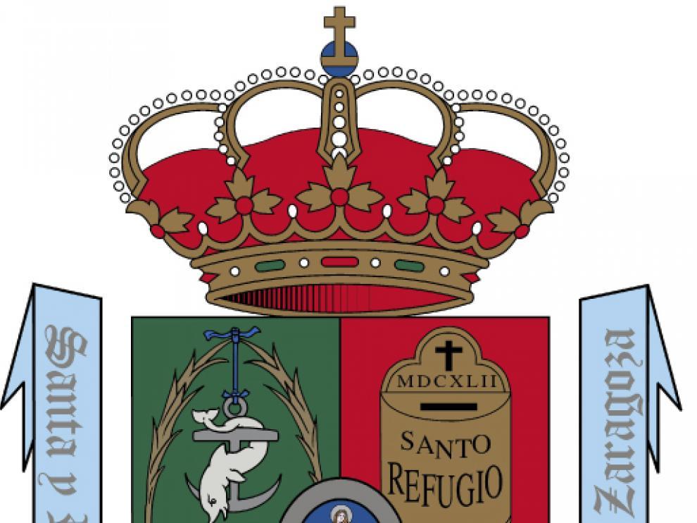 Escudo de la Hermandad del Refugio