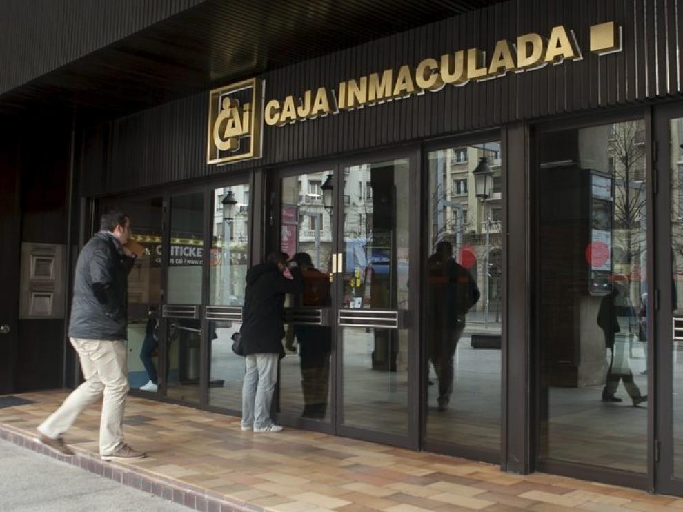 Sede central de CAI en Zaragoza