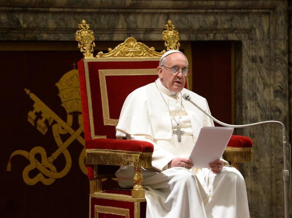 El Papa Francisco, este viernes en el Vaticano