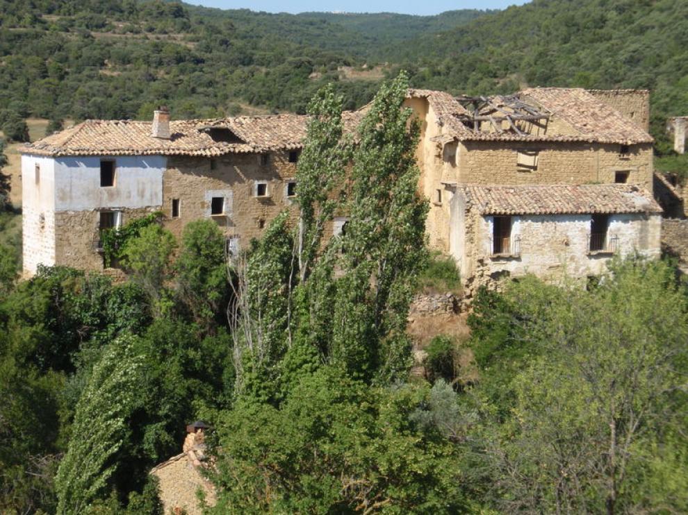 Lacasta, un pueblo abandonado que intenta recuperar la vida