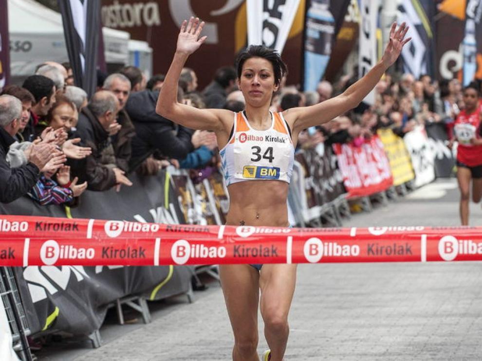 Isabel Macías logra la victoria en Bilbao