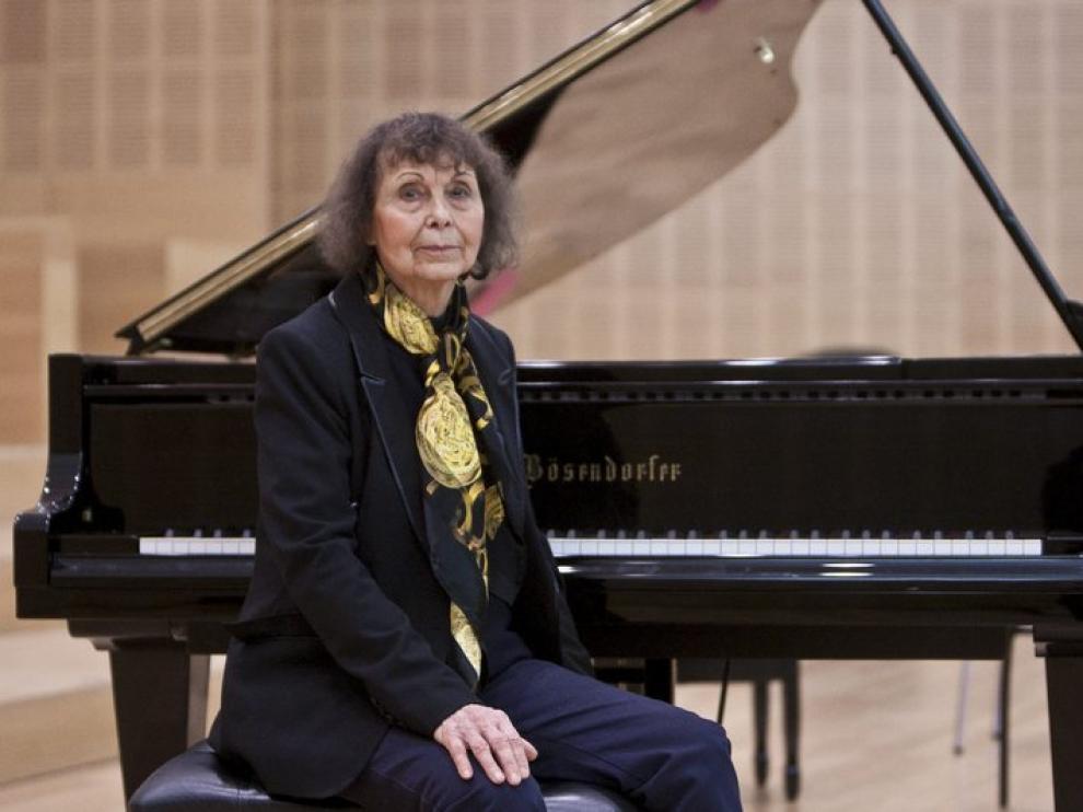 La compositora rusa Sofia Gubaidulina