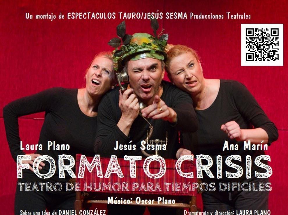 """Los tres """"obreros teatrales"""" protagonistas de la obra"""