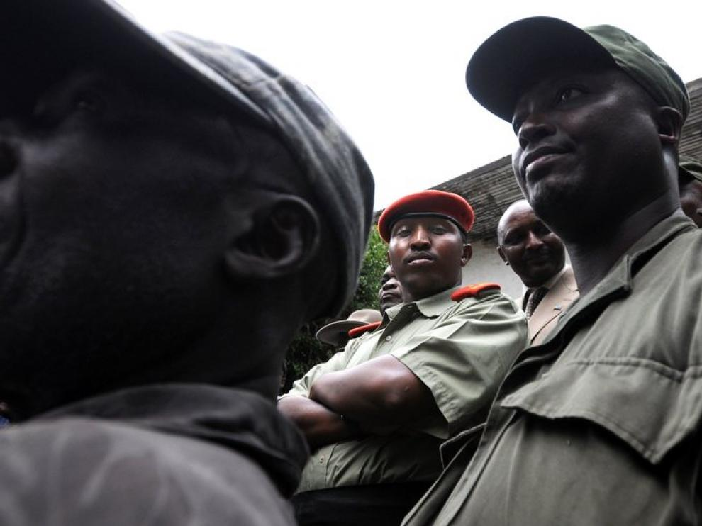 Bosco Ntaganda, en una imagen de 2009.