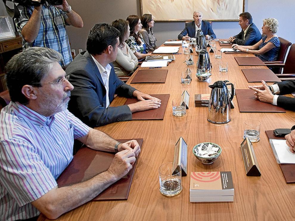 La anterior Mesa y Junta -en la imagen- pactó en secreto el pago de cesantías