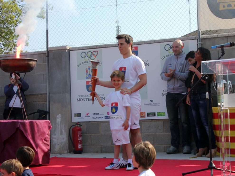 Entrega de premios en la anterior edición de la Baby Olimpiada.