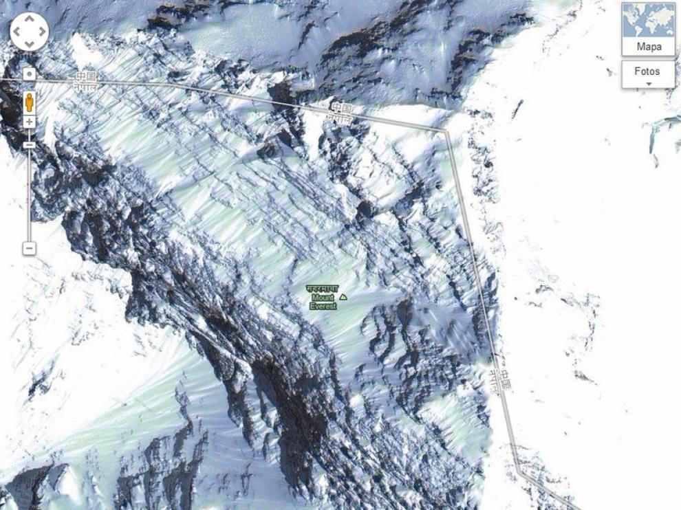 El Everest ya es visible en el servicio de Google.