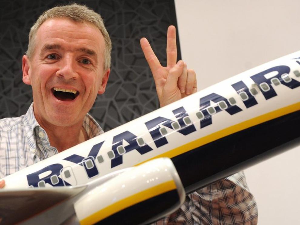 Presidente de la aerolínea irlandesa, Michael O'Leary