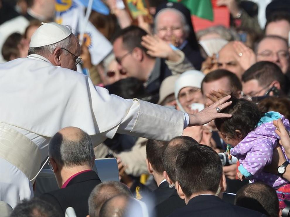 Entronización del Papa