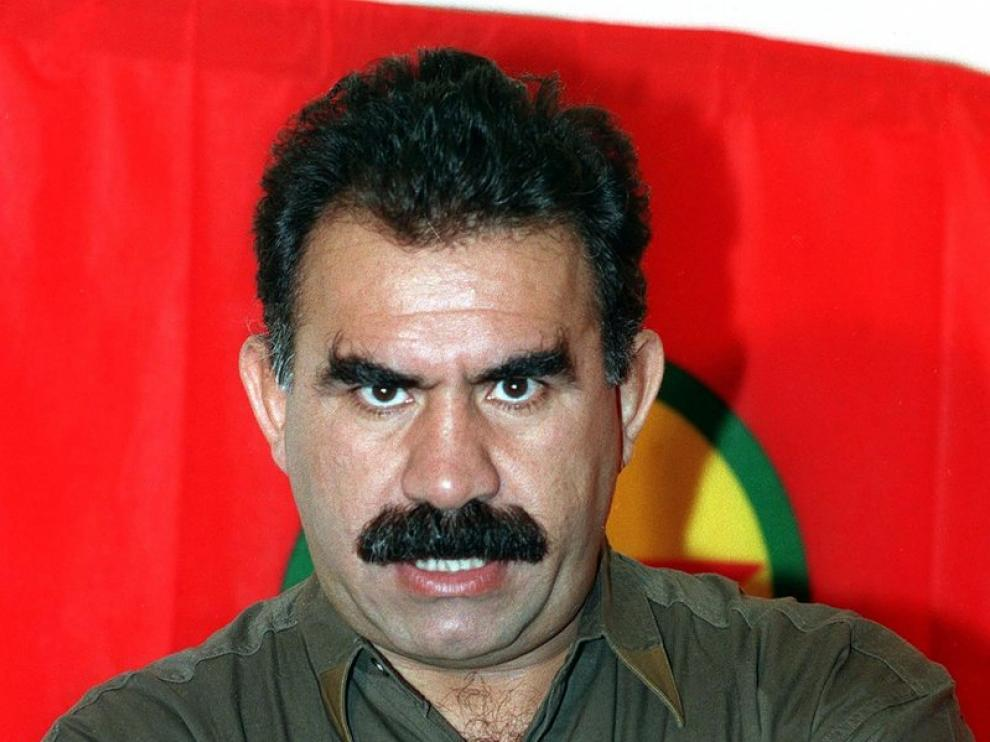 El líder del PKK, Abdullah Öcalan