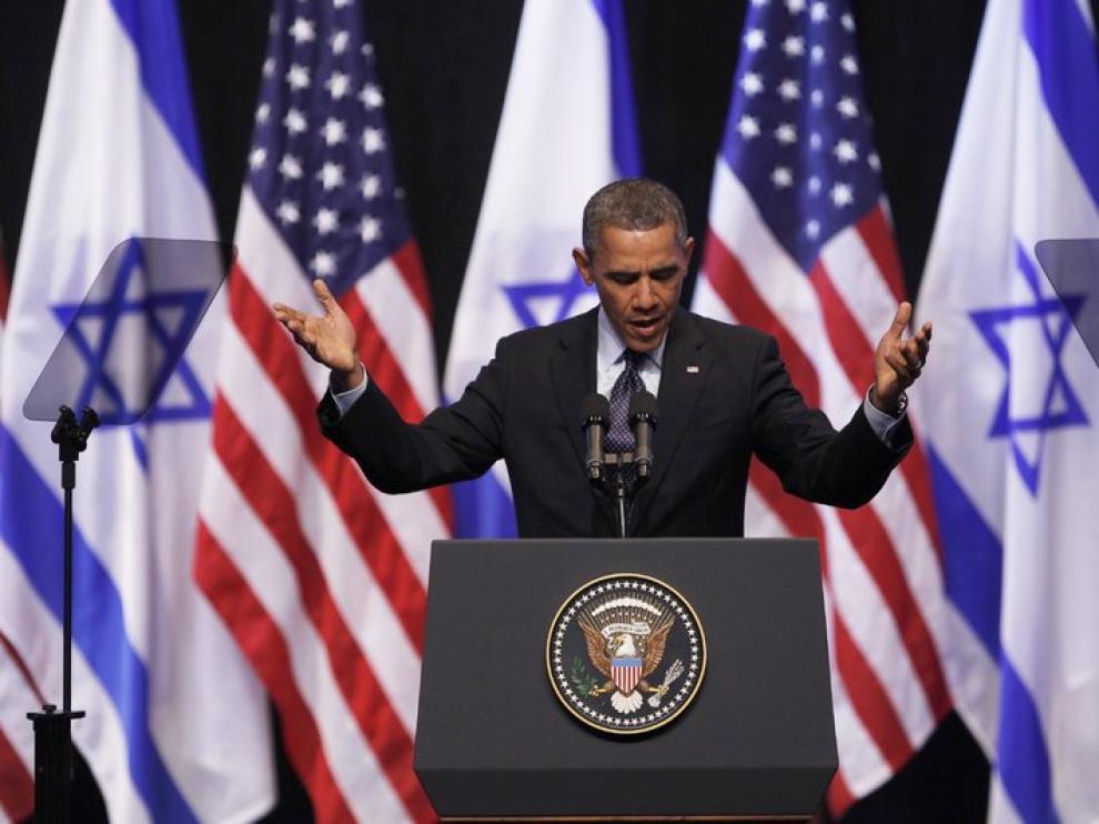 Obama se dirige hacia los jóvenes israelíes