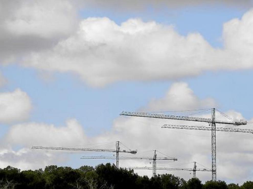 Los concursos de acreedores en el sector de la construcción han caído.