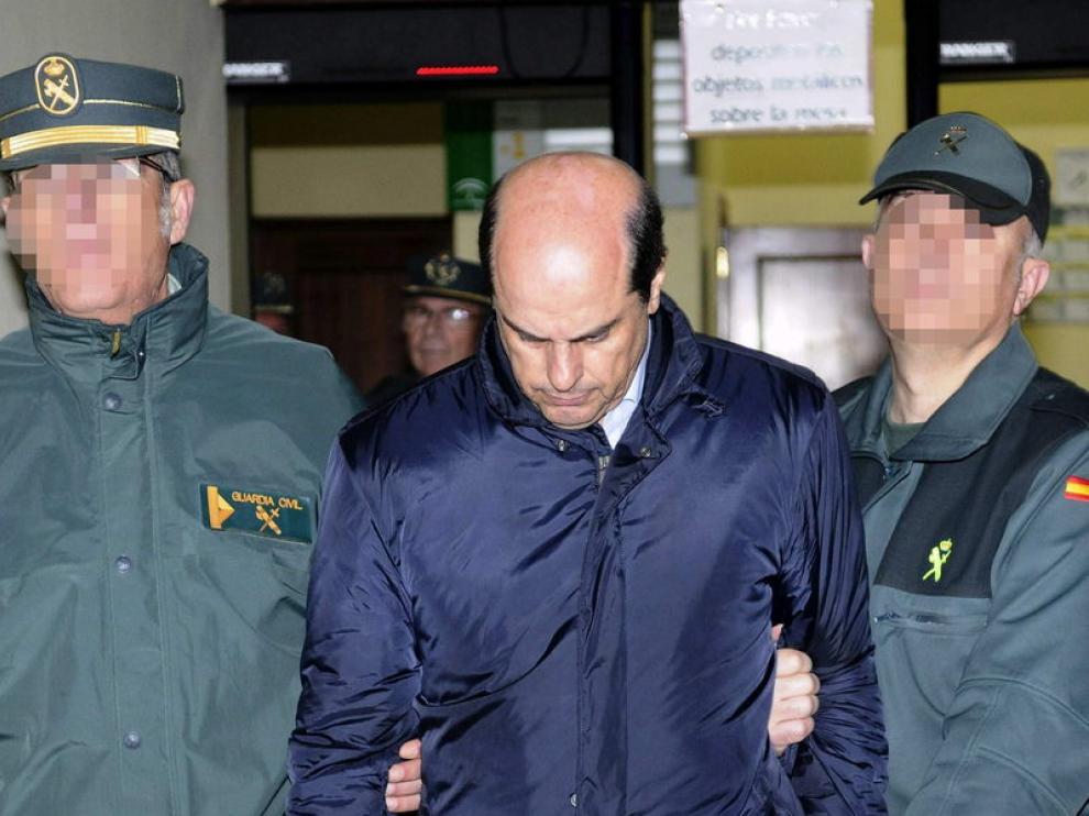 Antonio Albarracín antes de su ingreso en prisión
