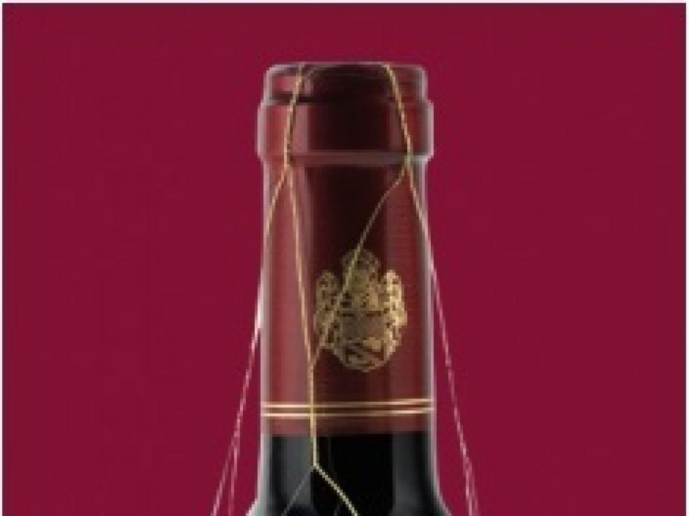 Una botella de Barón de Lajoyosa