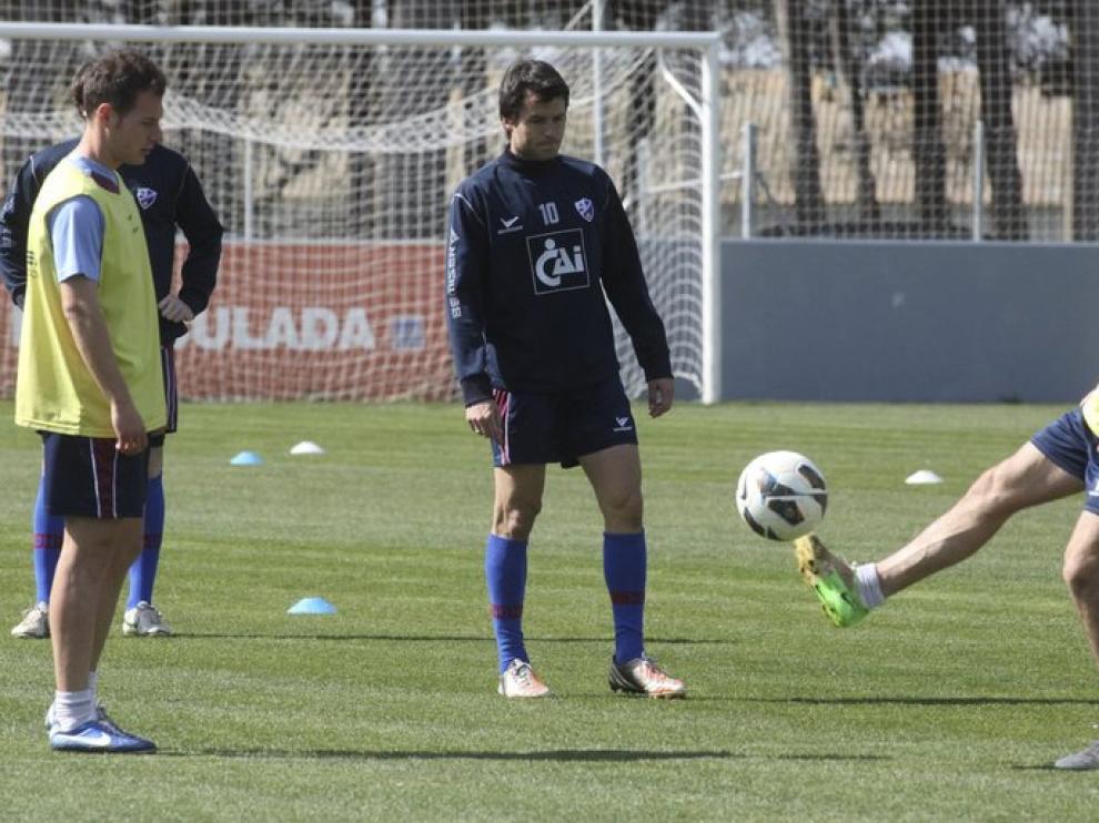 El Huesca prepara su choque contra el Barcelona B