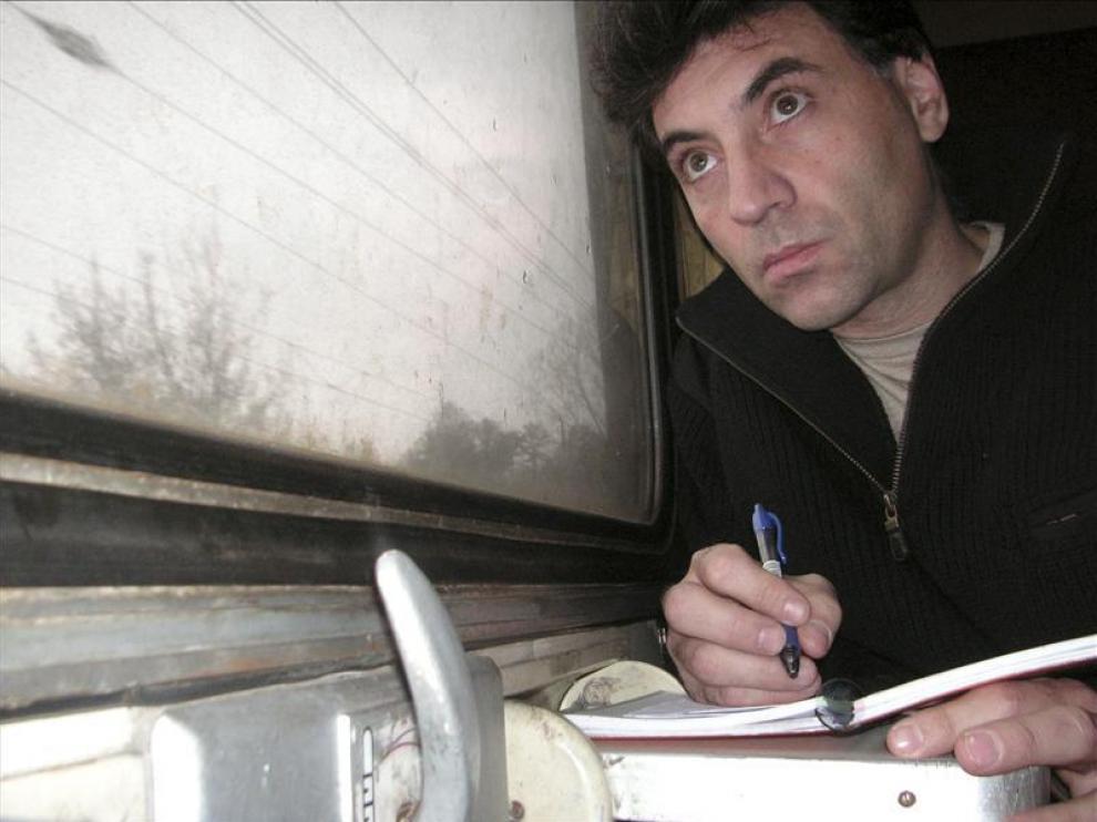 El escritor Antonio G. Iturbe