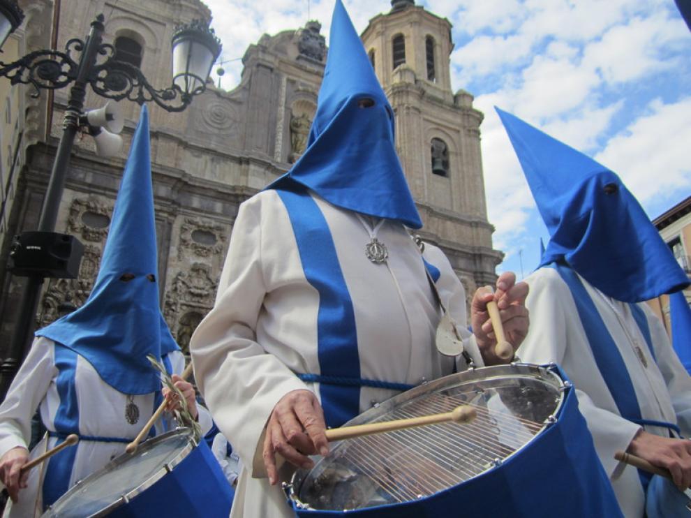 La procesión ha comenzado y terminado en la iglesia de San Cayetano