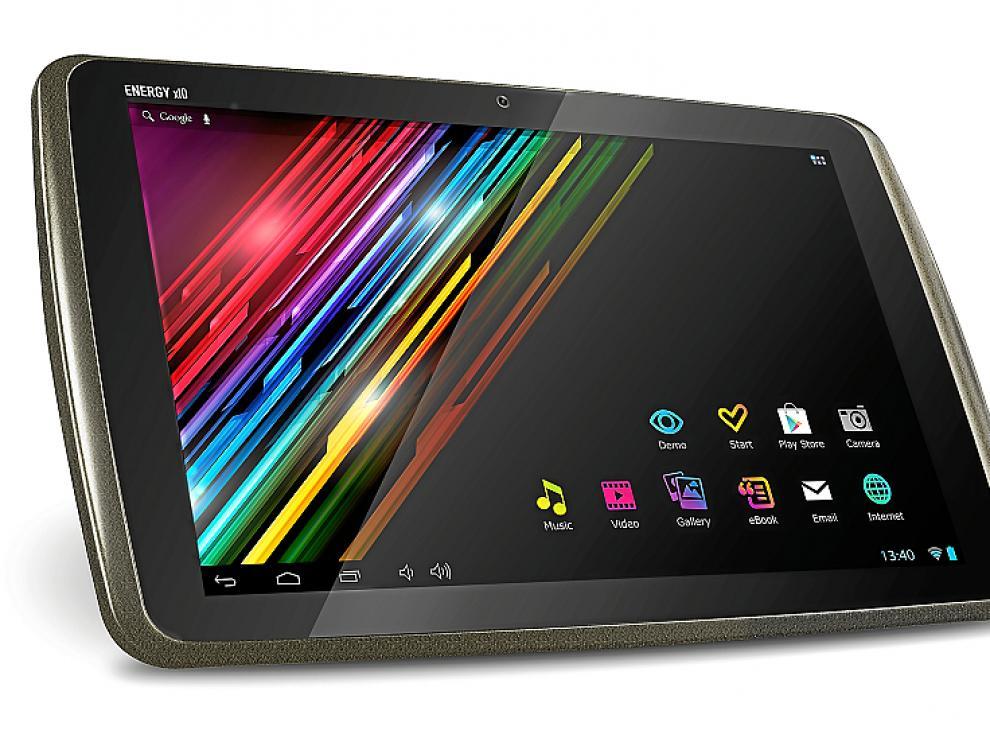 El nuevo 'tablet' tiene 7 horas de autonomía y una memoria de 16 GB.