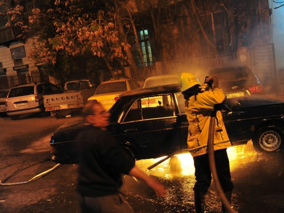 Inseguridad en Damasco