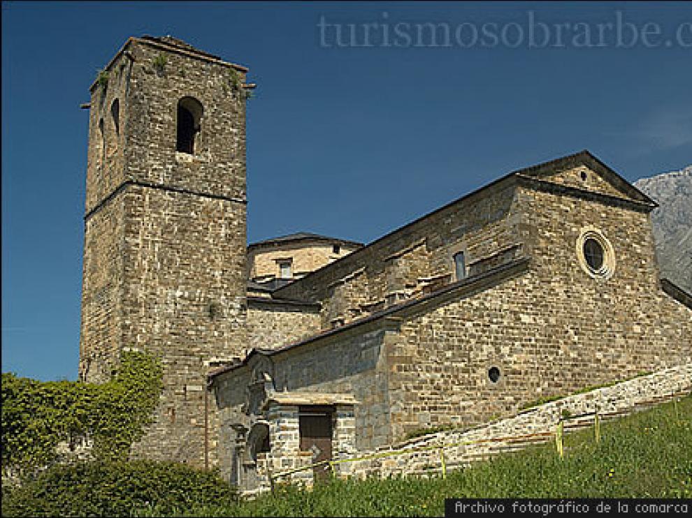 El Monasterio de San Victorián, en la Comarca del Sobrarbe.
