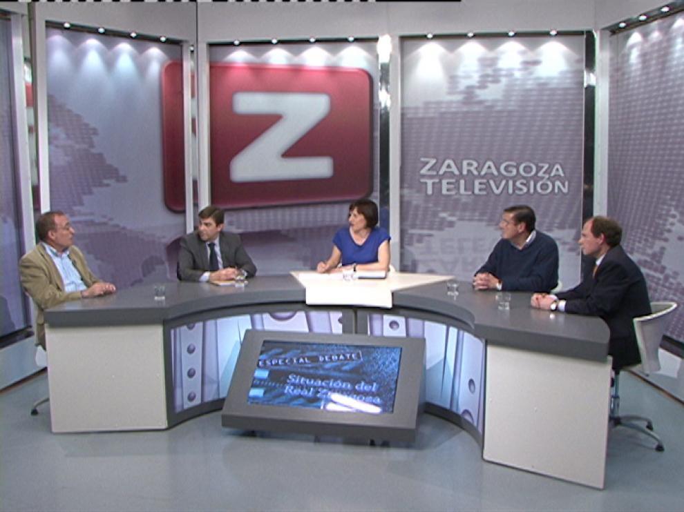 Imagen de un debate anterior en ZTV