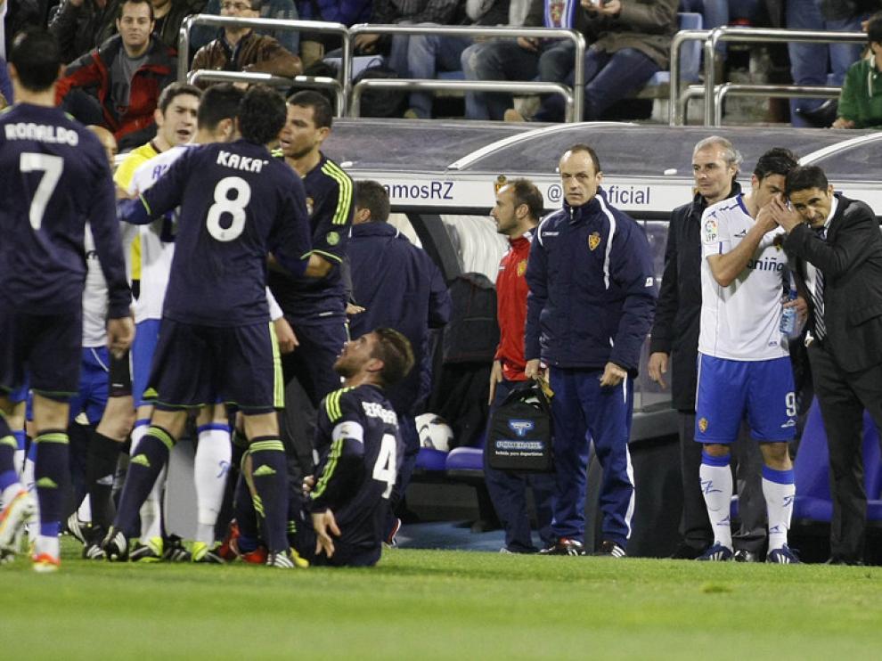 Imágenes del Real Zaragoza - Real Madrid