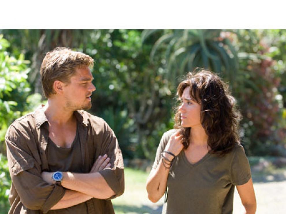 Leonardo DiCaprio y Jennifer Connelly protagonizan la cinta.