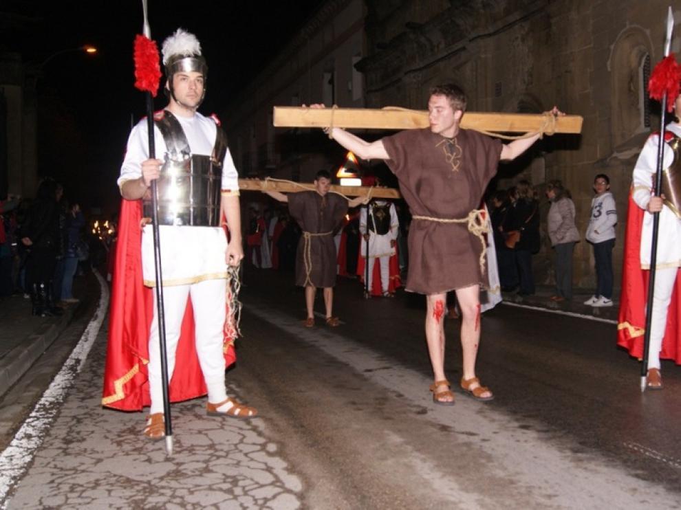 Representación de la Enclavación en Ayerbe