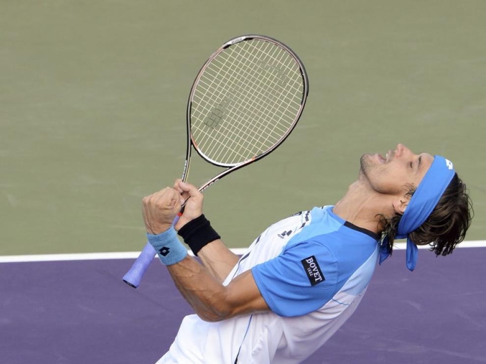 Ferrer celebra su triunfo
