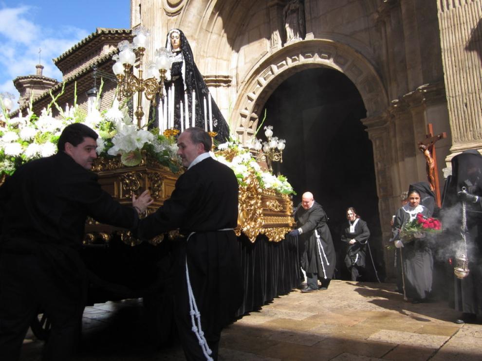 La procesión partió desde la iglesia de San Pablo