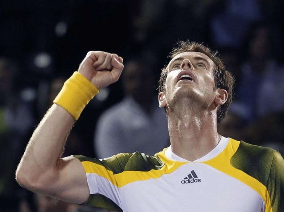 El tenista Andy Murray