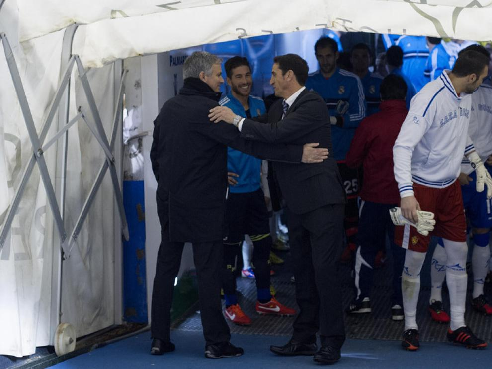 Mourinho y Jiménez